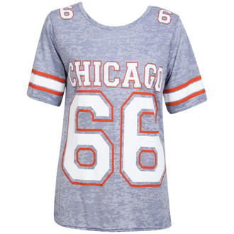 View Item Blue Chicago 66 Print Tee